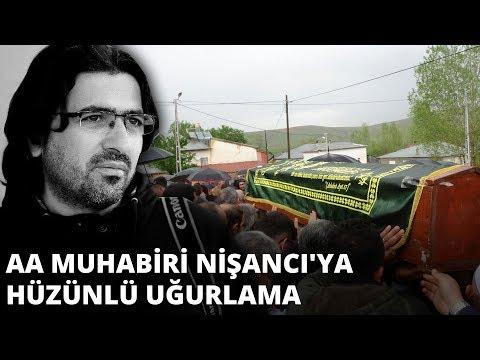 Anadolu Ajansı muhabiri Abdülkadir Nişancı'ya hüzünlü uğurlama