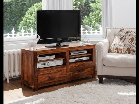 Solid Wooden TV Media Unit from Best of Exports