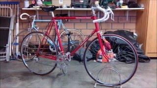 Retro Venturelli bicycle restoration