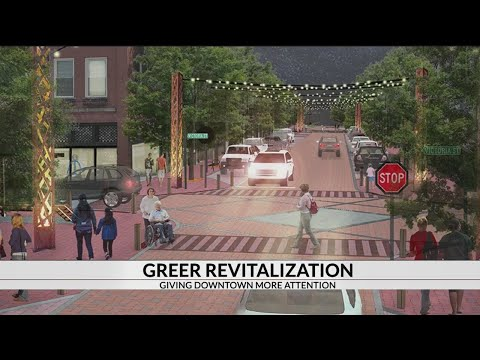 Revitalization Of Downtown Greer, South Carolina