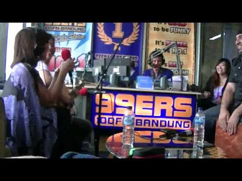 Joe & Kevin on 99ers Radio Bandung for Prema Yin Tour of Indonesia