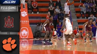 Alabama A&M vs. Clemson Full Game | 2019-20 ACC Men's Basketball