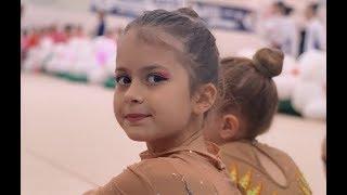 Дочка Виктории Бони Анджелина заняла первое место на соревнованиях по гимнастике ))