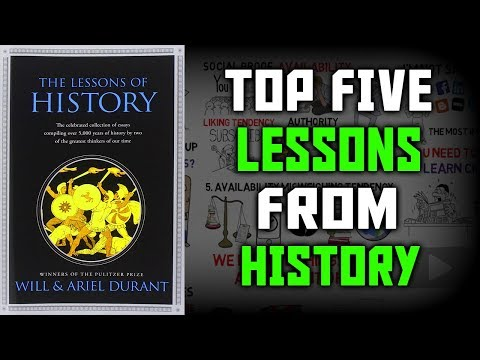 LESSONS OF HISTORY BY WILL & ARIENT DURANT