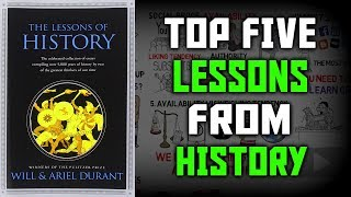 Скачать LESSONS OF HISTORY BY WILL ARIENT DURANT Animated Book Summary