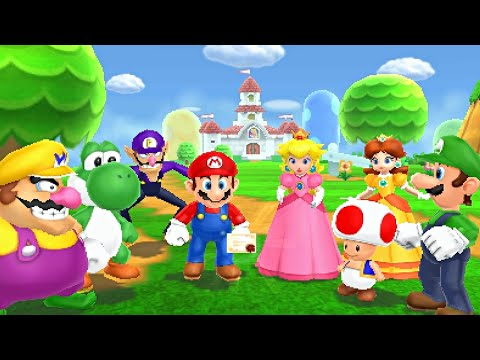 Mario Party Island Tour - Party Mode: Part 1 - Perilous Palace Path!