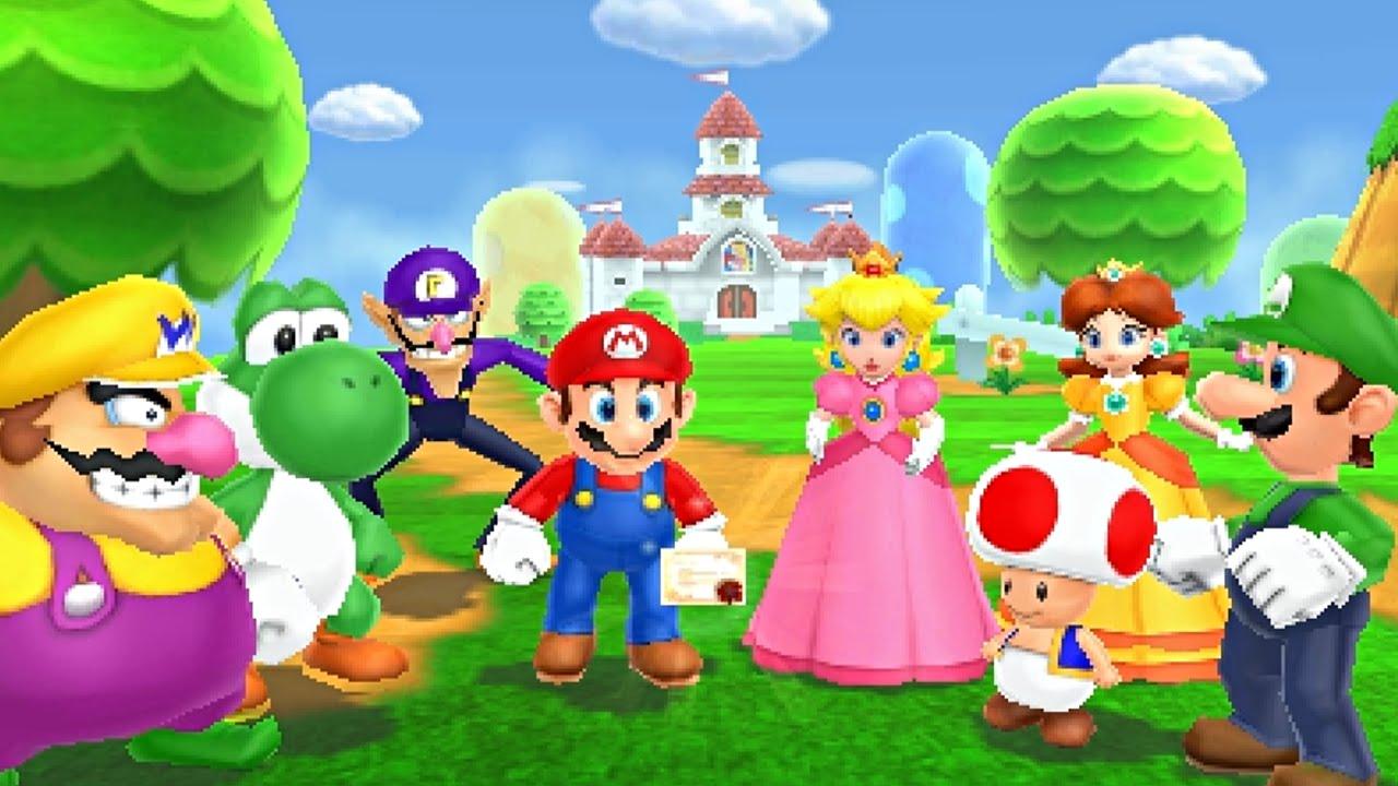Mario Party World Tour Ds