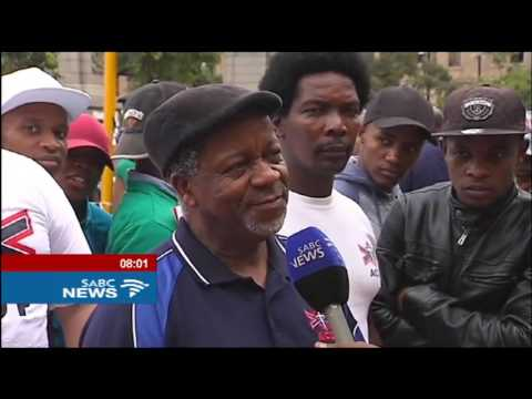South Africans come out in full force in protest against Pres. Zuma