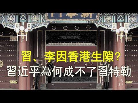 """文昭:习、李因香港起裂痕?习主席和""""习特勒""""的差距"""