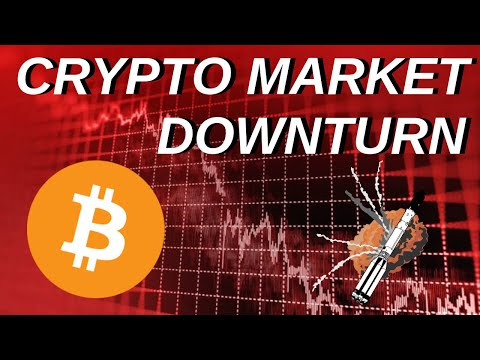 Crypto Market Turns Down, Bitcoin Cash Fight Continues