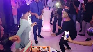 Bisola of Big Brother Naija Celebrates Her Birthday with Fellow BBNaija Stars Jan 21 2018