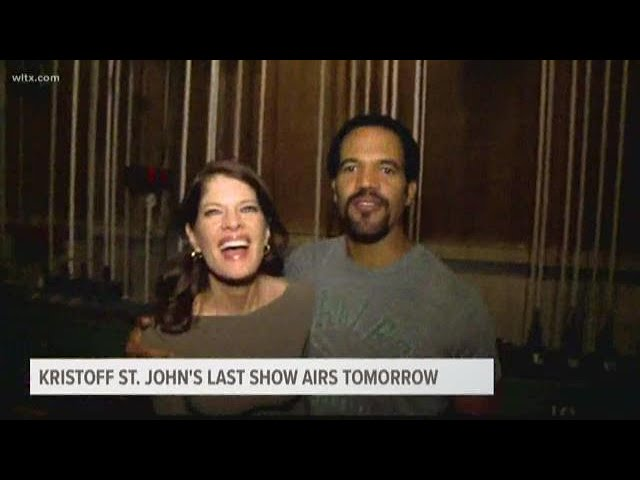 Kristoff St. John\'s last appearance on the \'Young and the Restless\'