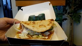 Panera Bread Mediterranean Chicken Flatbread Sandwich Review