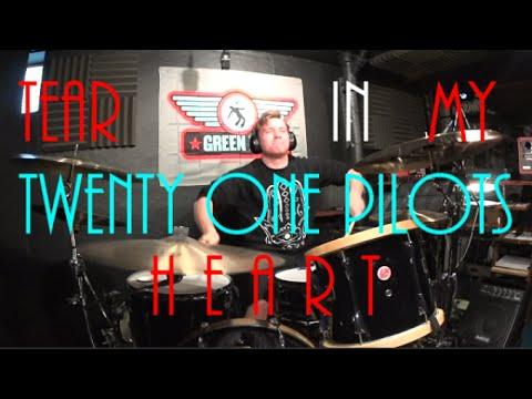 Twenty One Pilots - Tear In My Heart - Drum Cover By Rex Larkman ...