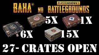 Baha* no PUBG - 6x GAMESCOM INVITATIONAL Crate Opening - 5xWanderer - 1Survivor - 15xPioneer