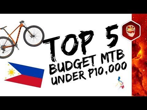 Top 5 Mtb Under P10 000 Youtube