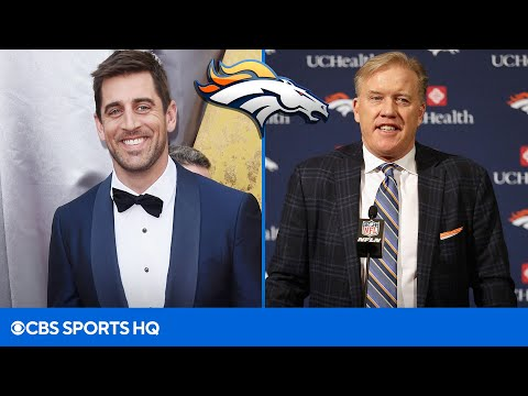 The Broncos are working on an IMPRESSIVE DEAL to land Aaron Rodgers | CBS Sports HQ