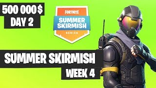 Fortnite Summer Skirmish Week 4 Day 2 Highlights