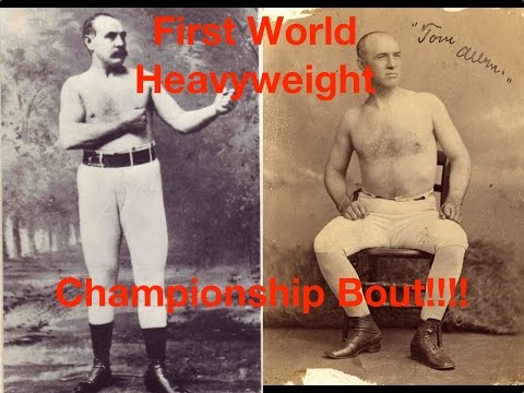 First World Heavyweight Boxing Championship