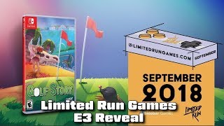 Limited Run Games E3 Reveal - #CUPodcast
