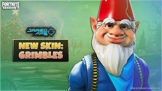 """New """"Grimbles"""" Skin - Fortnite Battle Royale - JaredFPS"""
