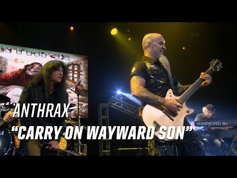 Anthrax Rock Kansas Carry on Wayward Son  2017 Loudwire Music Awards