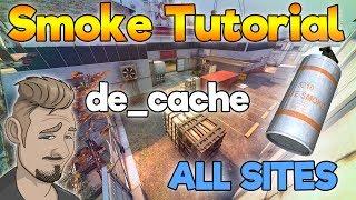 CS:GO SMOKE TUTORIAL de_Cache   Rauchgranaten-Tutorial   deutsch/german
