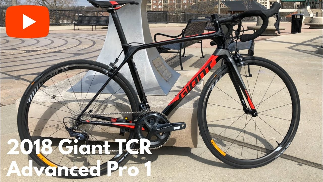 38f6d94014d 2018 Giant TCR Advanced Pro 1 - YouTube