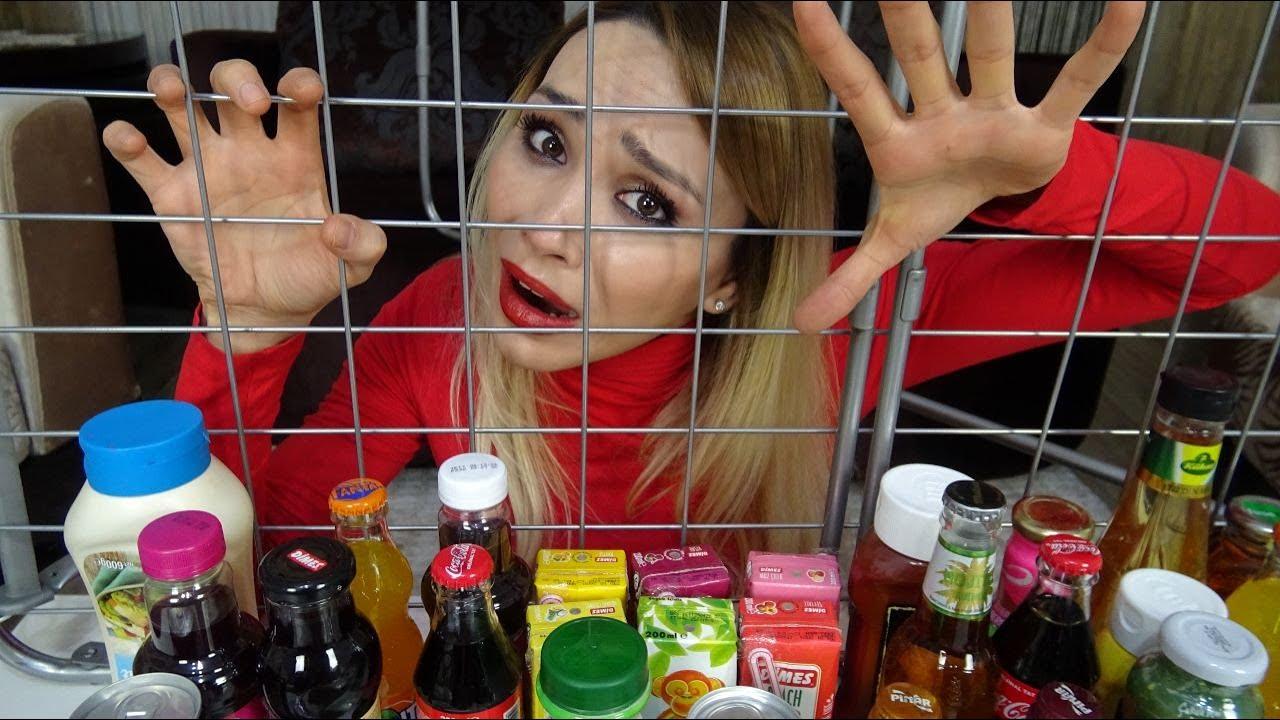 İçecek Kokteyl Challenge!! Kafes Çıkan Yanar   Prenses Lina