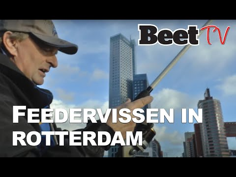 Beet Januari: City Fishing Jan van Schendel vangt in Rotterdam
