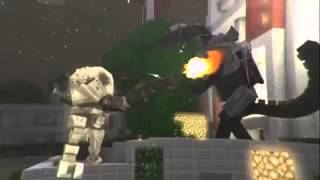 Miners in the sun (minecraft animation)-Gravity Zero Prod.