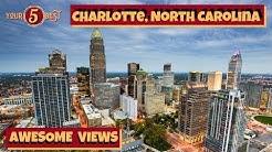 Charlotte, North Carolina - BEST Views 4k Drone Tour Video