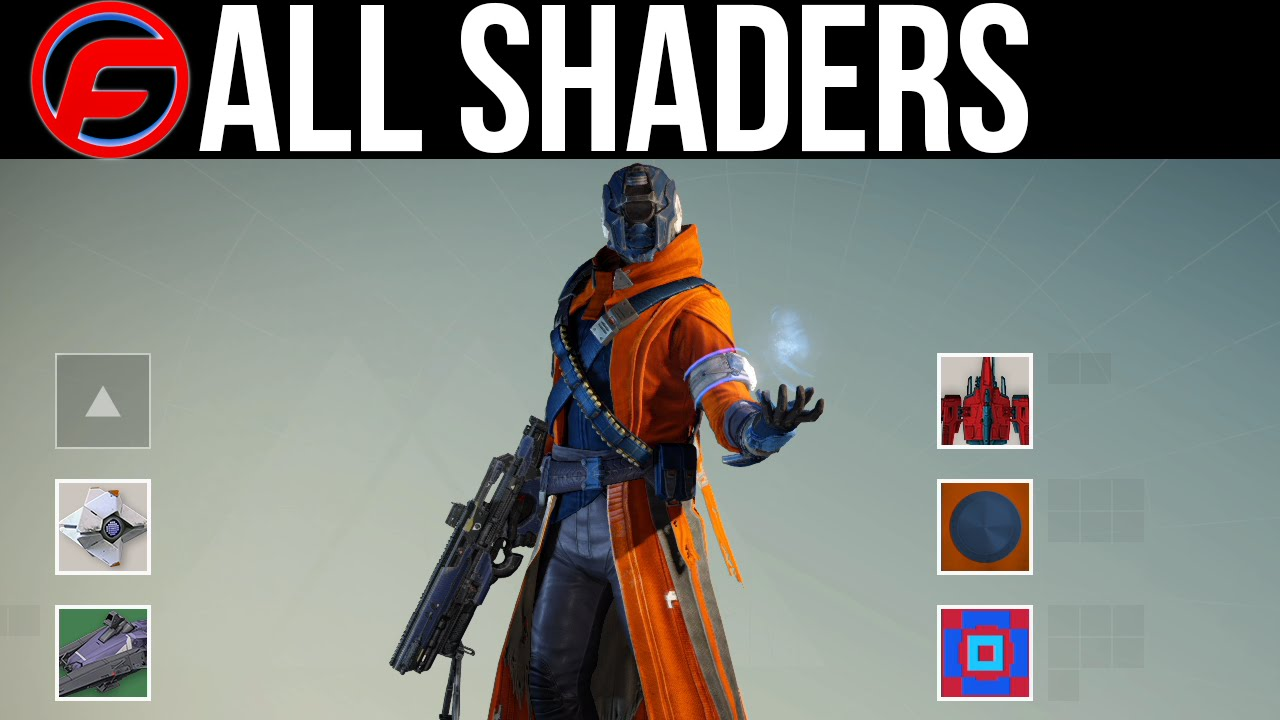 Destiny armor shaders destiny all shaders styles and what they look
