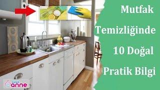 Mutfak Temizliğinde Sirke, Karbonat ve Limon ile Yapabileceğiniz 10 Pratik Bilgi