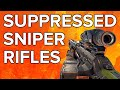 Black Ops 3 In Depth: Suppressed Sniper Rifles (No Damage Change!)