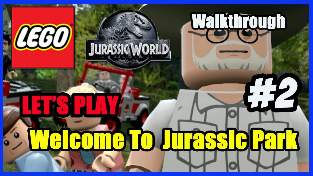 lego jurassic world xbox 360 how to play