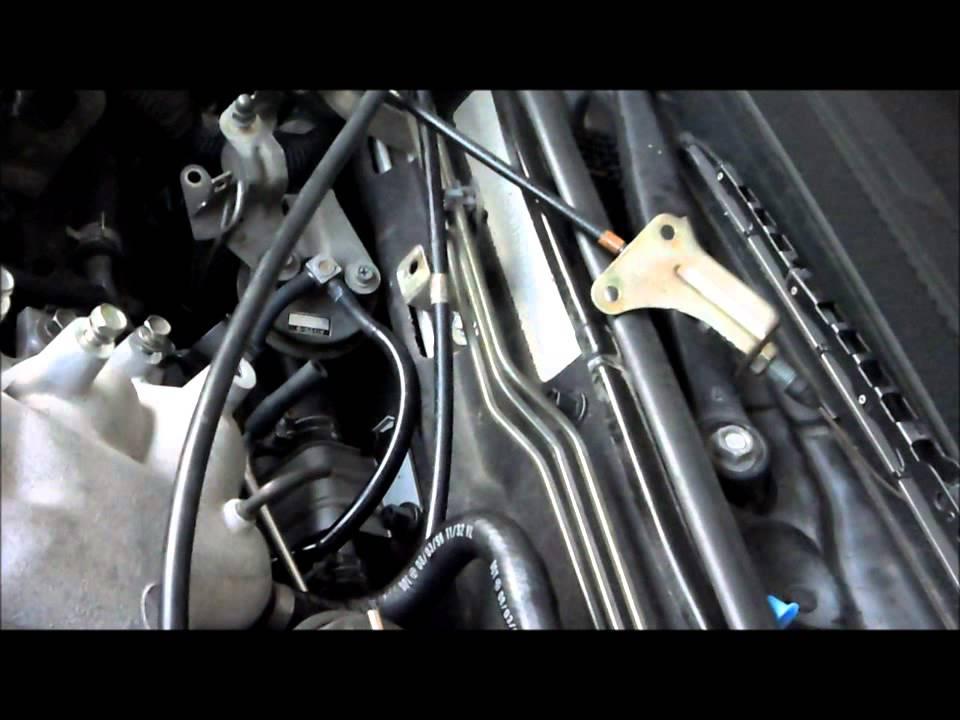 vh41de upper plenum knock sensor replacement youtube rh youtube com