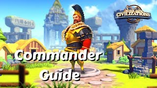 Commander Guide - Hannibal Barca, MASTER of Rallies | Rise of Civilizations