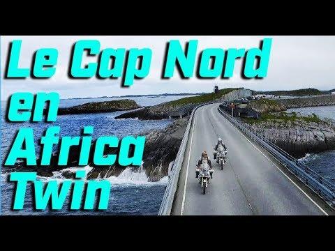 OSLO / LE CAP NORD  ► 3.500 KM DE OUF EN AFRICA TWIN ► C'est quoi l'aventure à moto ? english subs