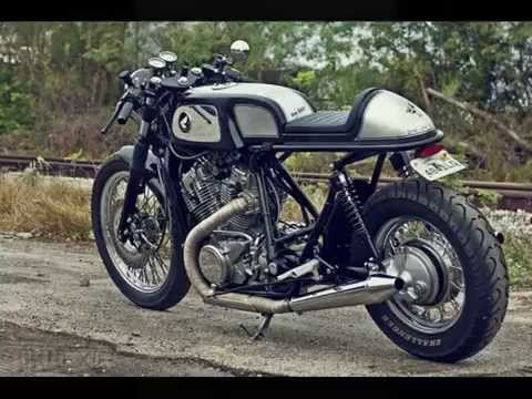 cafe racer payback based on the honda shadow vt800 - youtube