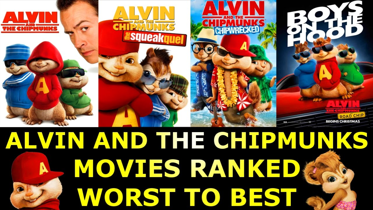 4 alvin and the chipmunks movies ranked worst to best