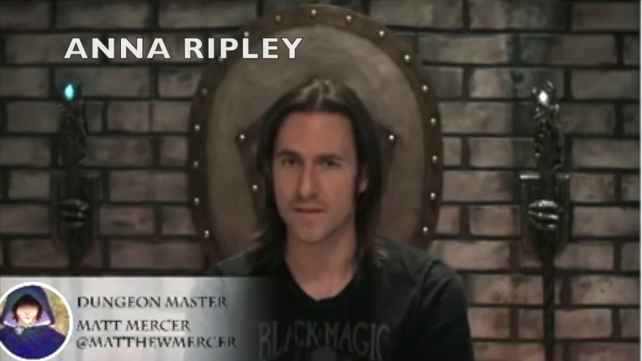 Matthew Mercer King Of Npcs Youtube