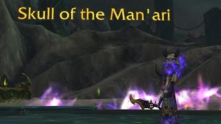 The Story of Skull of the Man'ari [Artifact Lore]