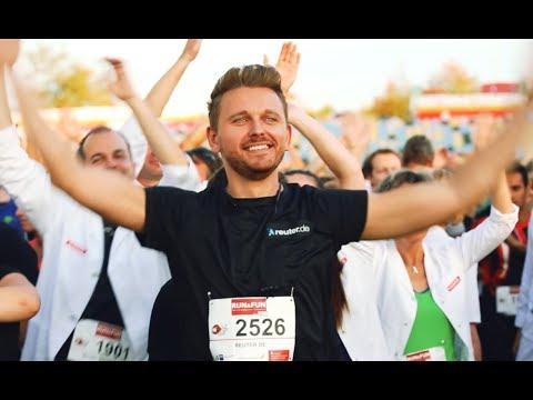 Reuter beim Run & Fun Firmenlauf 2018