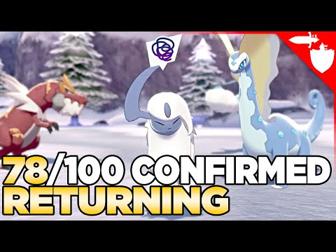 The 78 Confirmed Returning Pokemon in the Sword & Shield DLC Crown Tundra
