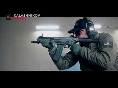 Larry Vickers shooting AM-17 assault rifle
