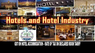 Gst On Hotel Room Rent