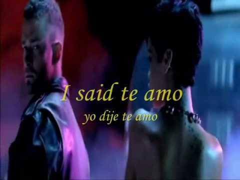 Rihanna te amo (Español - Inglés)