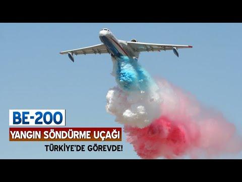 Be-200 Rus Yangın Söndürme Uçağını Tanıyalım
