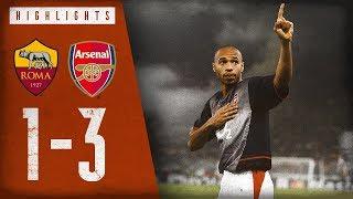 A Thierry Henry masterclass | Roma 1-3 Arsenal | Arsenal Classics | Nov 27, 2002